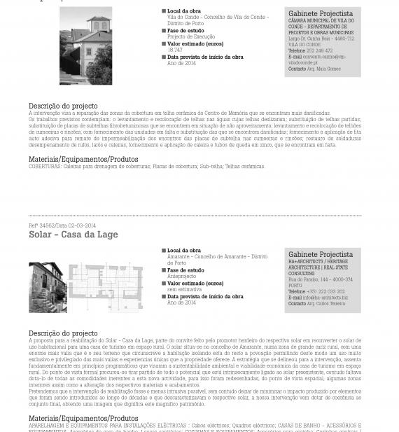 Ha+ Anteprojectos Março 2014